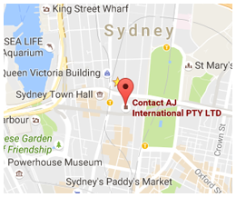 Sydney Office Map