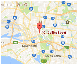 Melbourne Office Map