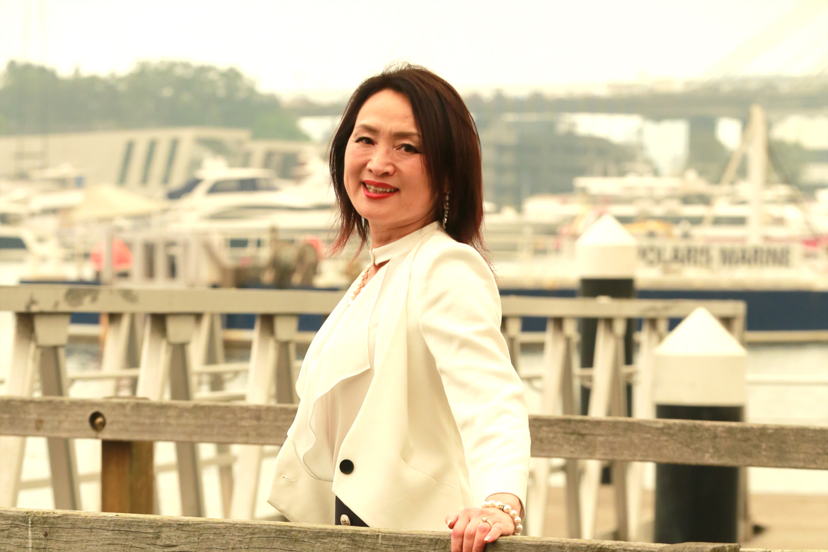 Cross-Cultural Matchmaker Katherine Wei